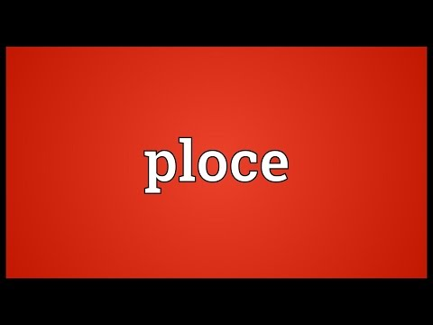 Ploce Meaning