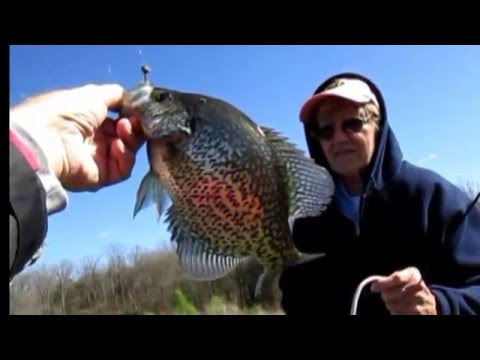 Fish The Windy Side For Spring Crappie