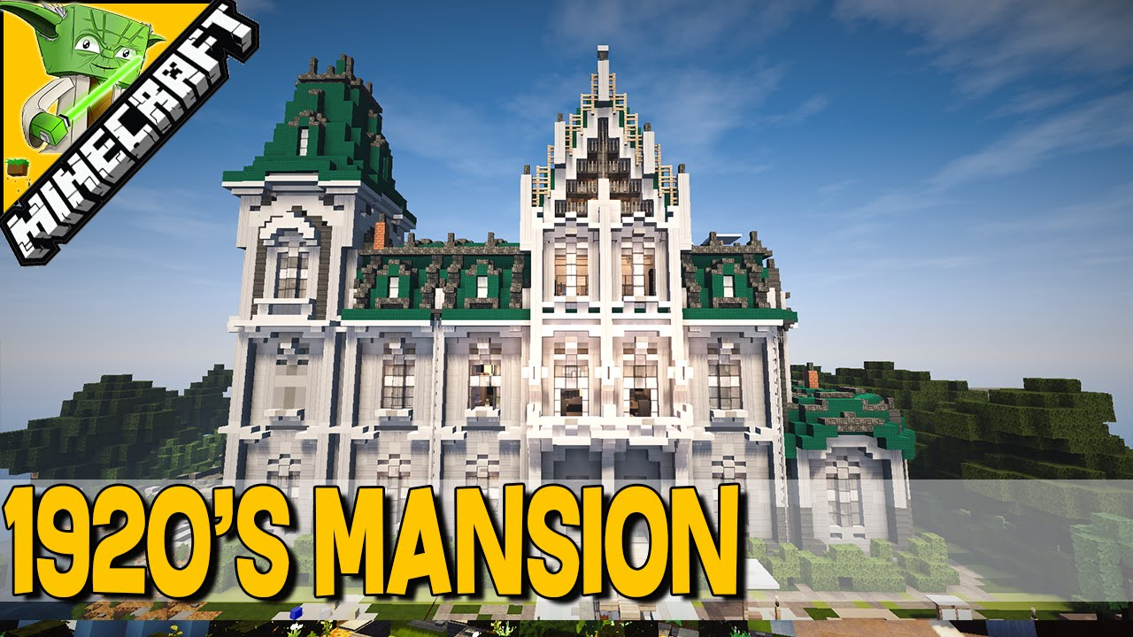 1920 S Mansion Minecraft Keralis Inspiration Series