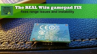 My**REAL** fix for Wiiu gamepad range issues