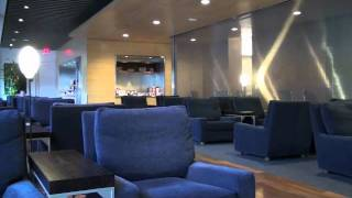 Asiana Airlines check-in & Star Alliance First Class Lounge LAX