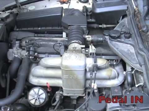 Bmw E34 535i M30 Clutch Noise Youtube