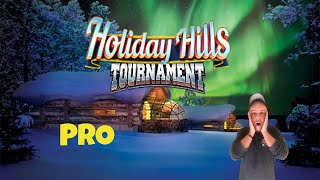 Golf Clash tips, Playthrough, Hole 1-9 - PRO *Tournament Wind* - Holiday Hills Tournament!