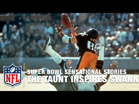 Super Bowl Sensational Stories | The Taunt That Inspired Lynn Swann | NFL
