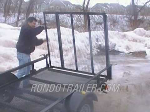 Liberty 5x8 5x10 mesh floor trailers landscapers special for 5x10 wood floor trailer