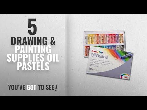 Top 10 Drawing & Painting Supplies Oil Pastels [2018]: Pentel PHN4-50 Oil Pastels - Pack of 50