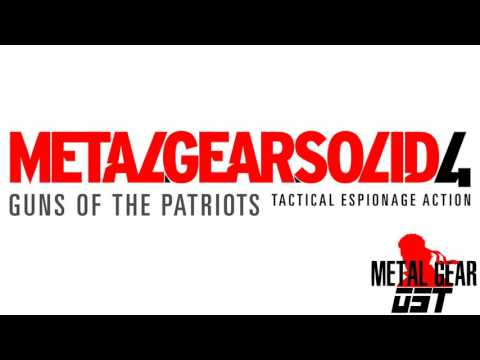 Snake VS Liquid Ocelot - Metal Gear Solid 4: Guns of the Patriots [OST V1]