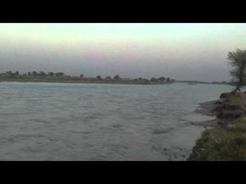 Beautiful views of River Jhelum in Village of Tawakhal Pur Pakhwal In Dist Jhelum Pakistan