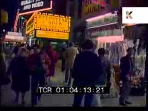 1980 New York at Night, Neons, Times Square