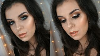 Warm Golden Makeup Tutorial
