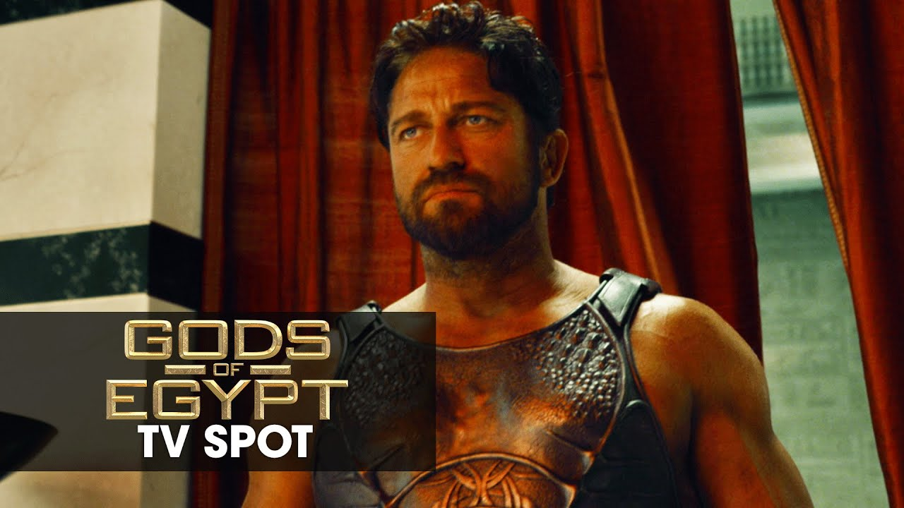 Gods of Egypt (2016 Movie - Gerard Butler) Official TV ... Gerard Butler Movies