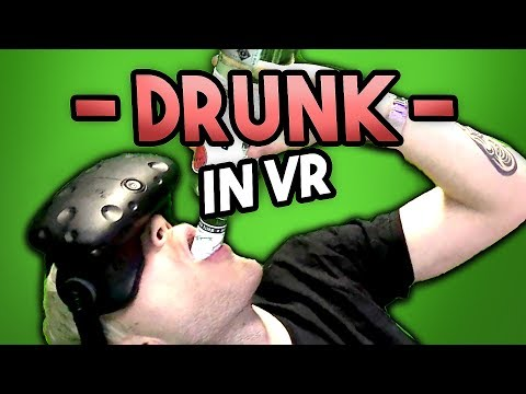 Thumbnail: MAKING DRINKS IN VR (& DRINKING THEM)