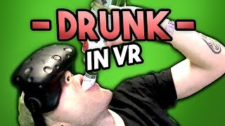 MAKING DRINKS IN VR (& DRINKING THEM)