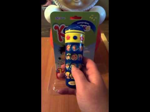 Детское пианино с микрофоном. Игровой набор / Childrens piano, with a microphone. Toys