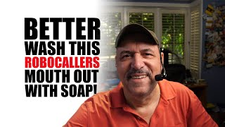 Better wash his mouth out with soap!