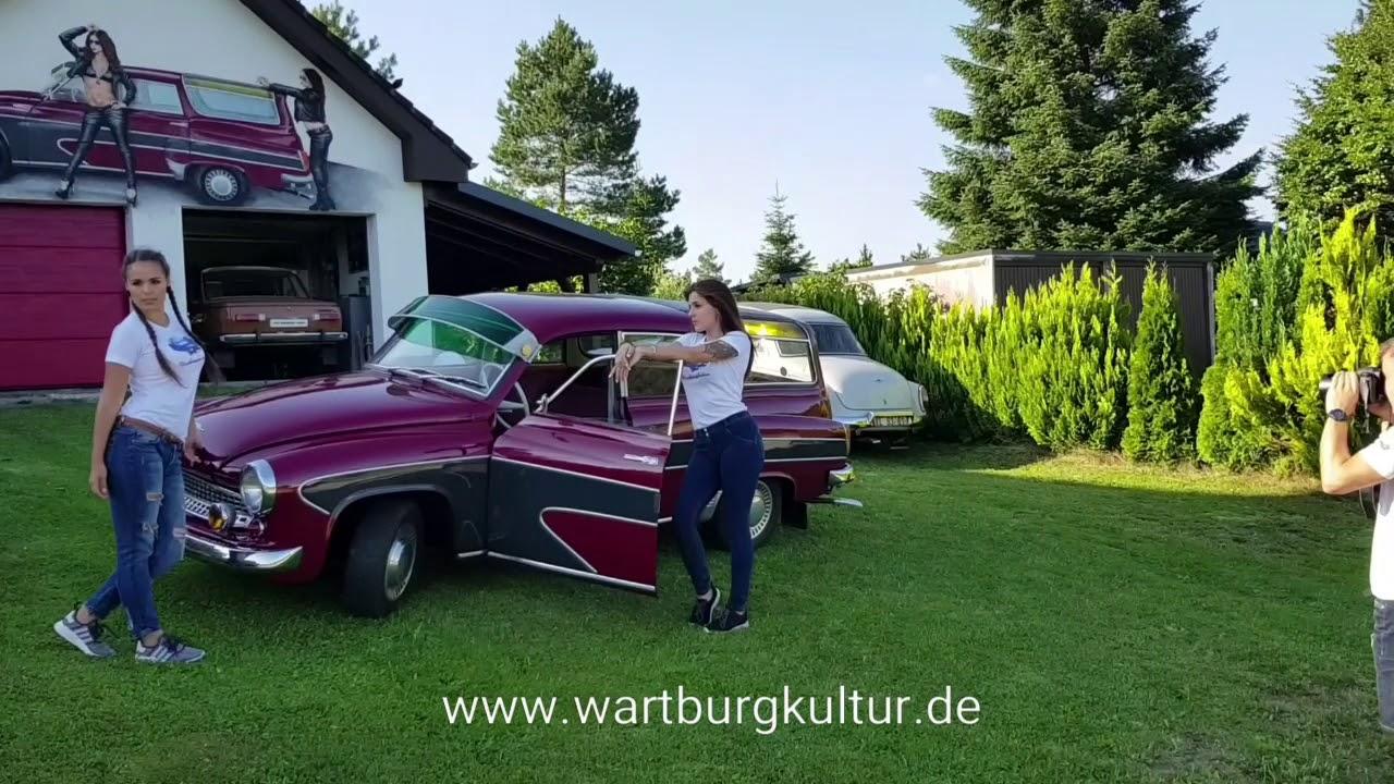 shooting mit wartburg 312 camping youtube. Black Bedroom Furniture Sets. Home Design Ideas