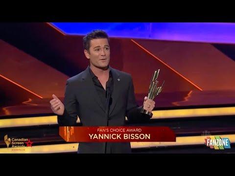 Yannick Bisson Wins 2016 Fan's Choice Award!