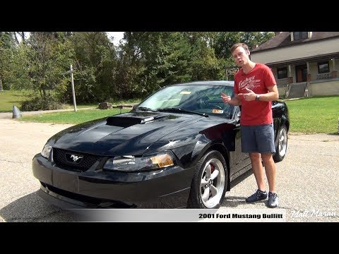 Review: 2001 Ford Mustang Bullitt