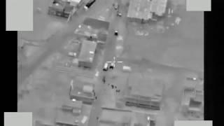 Авиаудар ВКС РФ и ВВС Сирии по тренировочному лагерю Джебхат Ан-Нусры