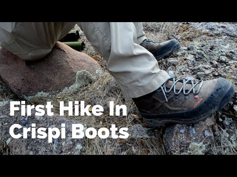 First Hike in Crispi Boots