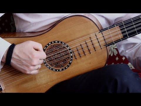 Baroque guitar - Santiago de Murcia - Jacaras and Fandango - Polivios - Stradivari Model