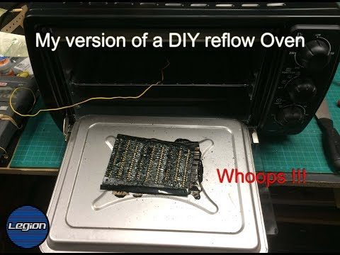 My version of a DIY reflow oven -  Part 1