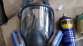 Как и Чем Отмыть краску от Стекла Маски 3М