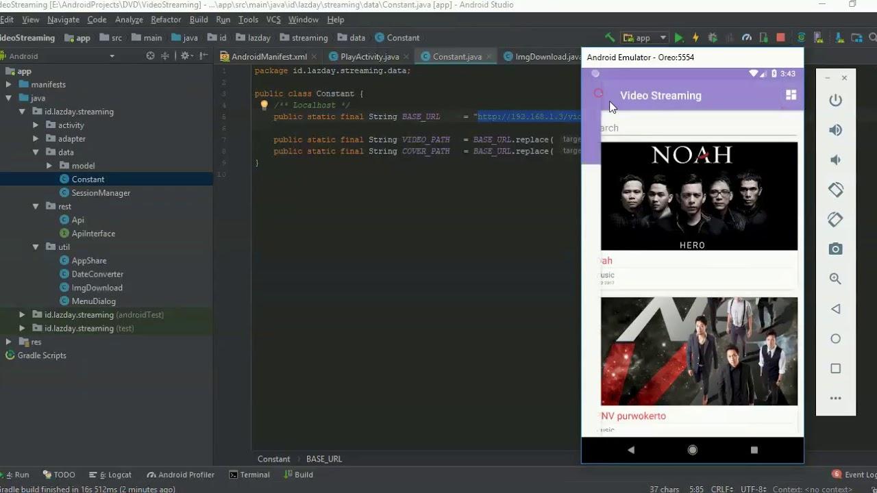 Tutorial Rest Api CodeIgniter dan Java Android menggunakan Android Studio #2