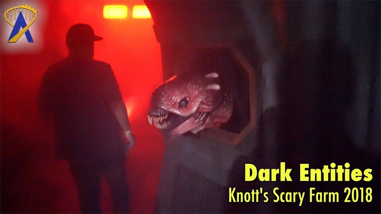 Dark Entities Haunted House Walkthrough At Knott S Scary Farm 2018