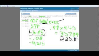GED 2014 Math  - 7Oct14