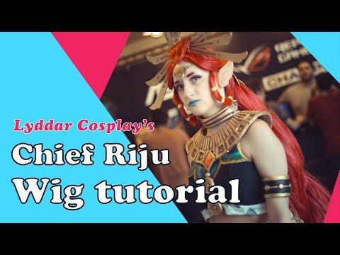Cosplay wig tutorial: Riju (Legend of Zelda Breath of the Wild)