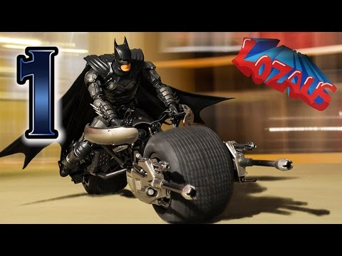 BATMAN STOP MOTION Action Video Part 1
