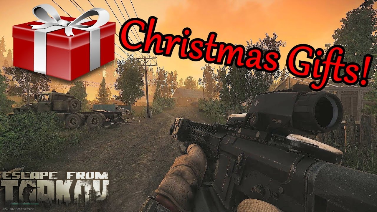 Escape From Tarkov Christmas Gift To All Youtube