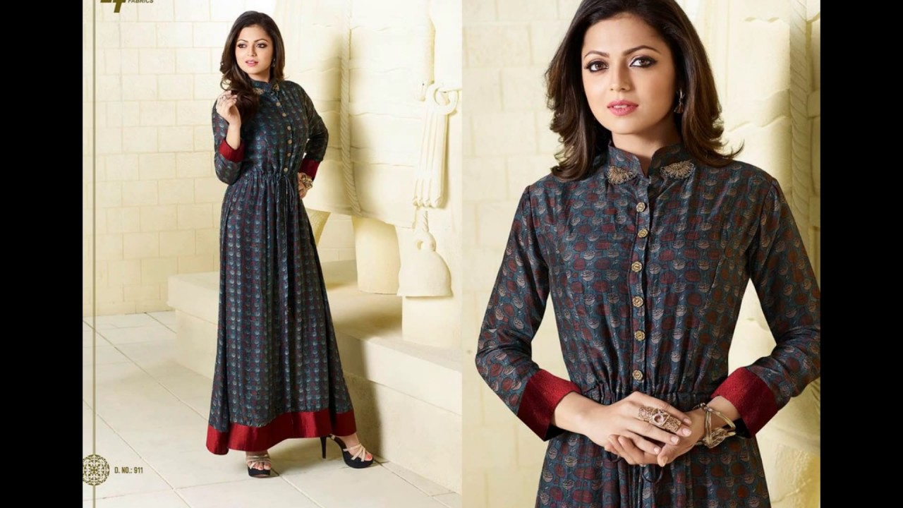 f1c30d6ab LT Fabric Designer kurti online shopping - YouTube