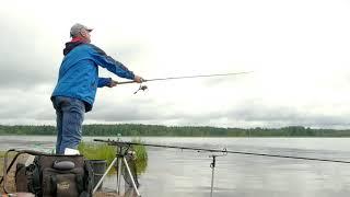 Рыбалка на Пяловском водохранилище.Ловля рыбы фидером.