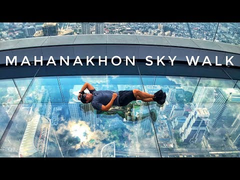 Thailand's highest observation deck at King Power MahaNakhon