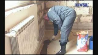 Стяжка пола в квартире своими руками,  ремонтная смесь