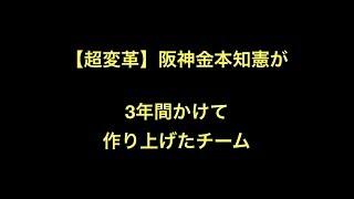プロ野球 【超変革】阪神金本知憲が 3年間かけて作り上げたチーム 主力(...