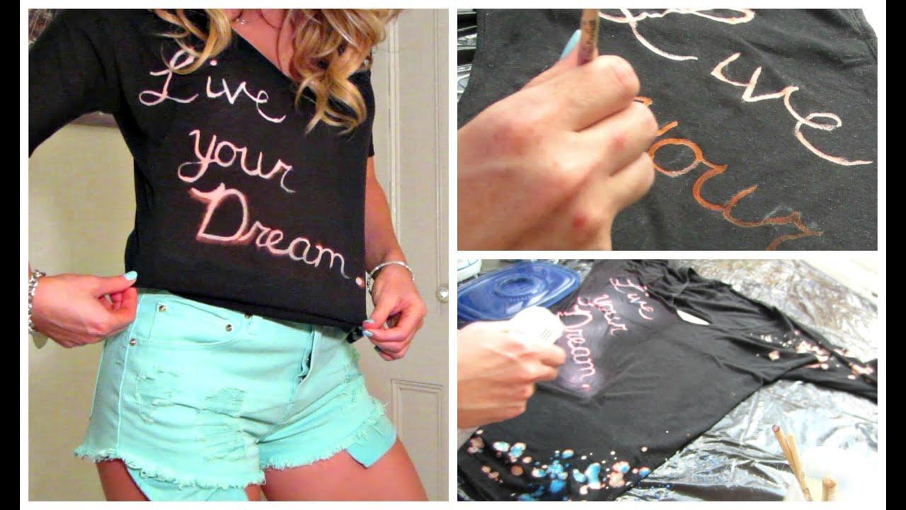 Black t shirt diy - Diy Recycle An Old Black T Shirt