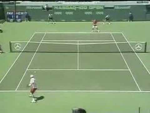 Lleyton Hewitt - Play of the week 2004 vs Andrei Pavel