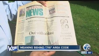 Celebrating meaning behind 716 area code