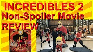 INCREDIBLES 2 - MOVIE FILM REVIEW (NO SPOILERS)