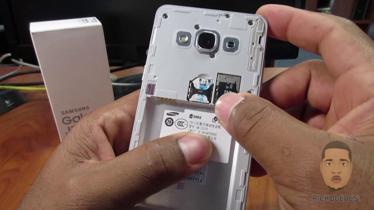 How to install an Sim Card & MicroSD card in Samsung