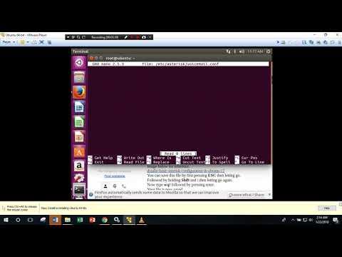 Setting VOIP Server (Linux Ubuntu) Dengan Asterisk Dan Client (Windows 10) Dengan Zoiper