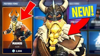 New Magnus Skin - Fortnite Battle Royale Gameplay - Dragon997