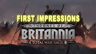 Thrones of Britannia First Impressions - Viking Sea Kings