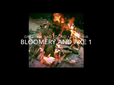 Bloomery (iron smelting proces in nature) / amazing quality of the ore (37%)
