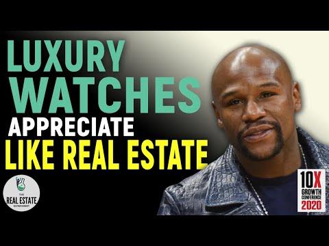 Floyd Mayweather - Luxury Watcher Appreciate Like Real Estate