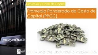 EFP 2016 Estructura y Costo de Capital