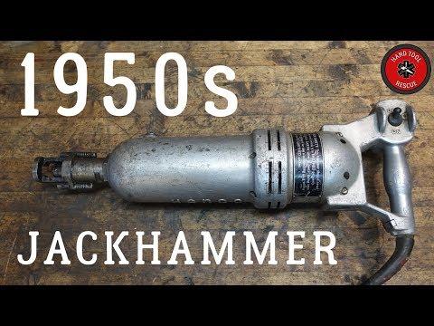 1950s Kango Jackhammer Restoration